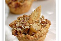 Minnie apple pies in muffin trays