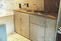 Splitfestvan / The ultimate self build camper van for splitboarding.