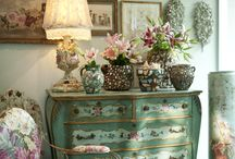 Painted Furniture Ideas / There are some really unique and gorgeous ideas on updating old furniture.  Just a few ideas for when I decide to repurpose some of my old pieces. / by Kathy Tutor