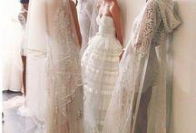Backstage bridal photos
