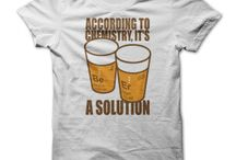 Geek and Tech / T shirt designs featuring science, sci-fi or gadgets