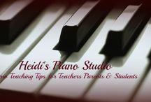 Piano teaching / by Jamie Styer