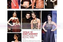 "Glimpse Magazine covers ""The Royal Tribe"" from Apala By Sumit, IIJW Show, Current Issue."