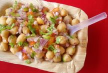 pakistani chickpeas chaats