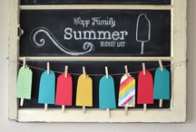 Enjoying the Season: Summer / Every season has something special. Fun ways to embrace Summer! / by Megan Bray | Balancing Home