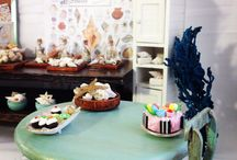 Dollhouse miniature / Seashell or vintage shop / by Bobbie N Melinda Russell