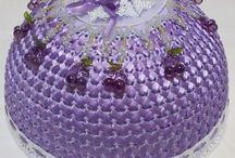 cobre bolo d crochê