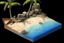Diorama Holiday