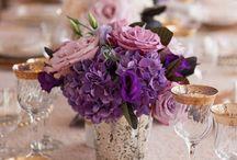 casamento lilás/rústico