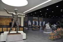 Interior - exterior decoration / Marble & bronze Statues, ceramic vases, mosaics