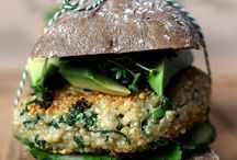 burger en vlees lunch