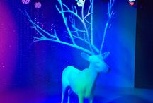 JUSTSO & Swarovski Christmas 2014 / For Christmas 2014, JUSTSO has collaborated with Luxury Austrian Crystal brand Swarovski to capture the spirit of the festive season with a beautiful art installation featured on the main stage of their flagship store in Vienna.