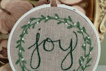 hand embrodery for christmast