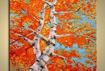 Birch / Brich = breza, je jedný z najobľúbenejších drevín, ktoré sa nachádzajú v tvorbe mnohých výtvarníkov