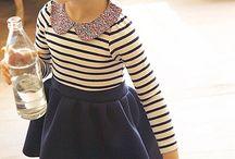 stripes frock