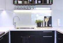 PINOA interior design. / Suunnittelemiamme kohteita
