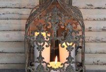 Lanterns velas y luz