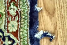 Rug Repair / Oriental rug repair and area rug repair. Aaron's Rug Care of Latrobe, PA offers both hand and machine repairs. Repairs include. Fringe, serge edge, binding, reweaving, stain removal, and lots more.  / by Aaron's Rug Care