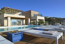 Villa Alai #Crete #Greece #Island / Villa Alai is part of a complex of 4 independent luxury residences each with private swimming pool. http://www.mygreek-villa.com/fr/rent-villa-search-2/villa-alai