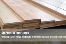 Machined Products, Wood & Timber Supply / We have a wide range of machined products and choices of finished or semi-finished components such as jambs and general mouldings.