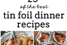 FOIL DINNERS / by Cathy Grandstaff