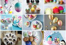Hímes tojás festése húsvétra