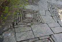 идеи для сада - садовые дорожки и площадки