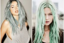 Pastel Hair / Pastel Hair inspirations images. www.dressfashionably.blogspot.ca