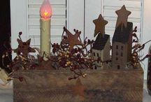 Primitive Decorating