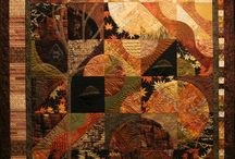 brown - Patchwork Quilts