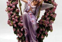 Figurine ange / Photos de de figurines anges. Statuette décoration angélique