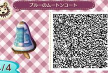 ACNL clothes QR codes