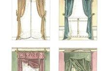 19 ου αιώνα γαλλικές κουρτίνες