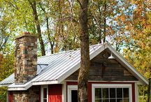 Tiny houses / Love the simplicity & cosiness of a tiny house