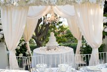 Cake Canopy & Cakestands / by Monarch Weddings