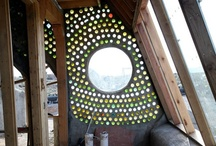 wine bottle walls