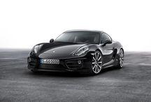 Porsche Cayman Black edition / Porsche Cayman Black Edition. Más elegante que nunca y con mayor equipamiento.