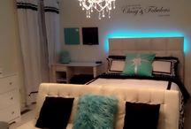 Tiffany & Co - inspired room