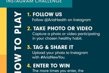 New You Instagram Challenge / New year, new you! Choose one healthy habit, participate daily and keep us updated along the way. The more times you share with us on Instagram using #AriaNewYou, the more chances you have to win. We will also be sharing the exciting new things happening at Aria Health. / by Aria Health