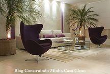 Tipos de pisos para casa! / Veja + Inspirações e Dicas de decoração no blog!  www.construindominhacasaclean.com