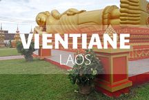 Vientiane, Laos / Vientiane, the capital city of Laos, is an atmospheric and relatively quiet city, at least by Southeast Asian standards!