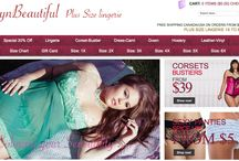 New Free Shipping Canada/USA / Dedicated to Plus Size Lingerie