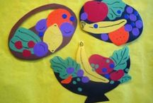 Fruit basket craft idea / this page has a lot of free Fruit basket craft idea for kids,parents and preschool teachers.