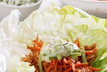 Recipe Ideas - Lettuce Cup / Low Carb