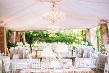 Wedding Tent Styling