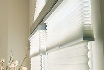 Cellular Shades / Honeycomb Shades / Cellular Shades - Honeycomb Shades for windows. Great window treatment ideas for kitchen, bedroom, living room and more. Inexpensive option for window coverings. See examples of window shades from Hunter Douglas, Graber and Lafayette Interior Fashions. Cordless shades, top down bottom up shades, blackout shades, in a variety of colors and fabrics. These cellular shades for windows provide a lot of room darkening and light filtering options at a reasonable price.