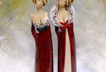 keramické sošky