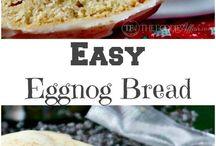 Seasonal Favorites - Eggnog / Holiday recipes featuring eggnog!