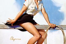 Cowgirl fApp / Pretty pinups and artwork of our favorite southern belles.