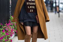 Fall (owing) the street style